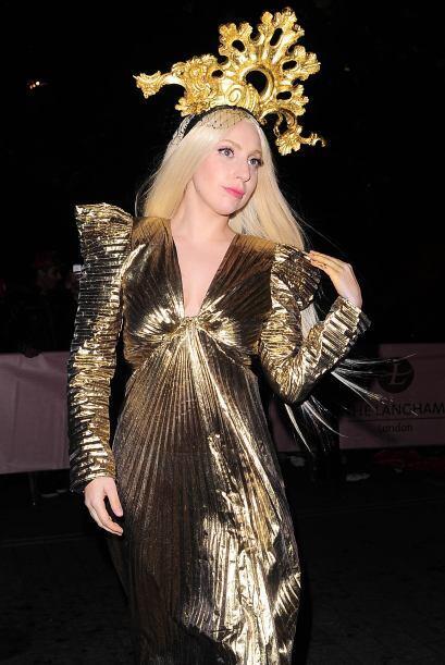 Hoy en día, Lady Gaga es, sigue y seguirá siendo la reina del 'cosplay'...