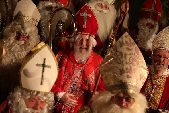 Santa dio un largo recorrido este año.