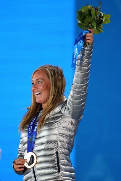 Estados Unidos se subió a lo más alto del podio con Jamie Anderson.