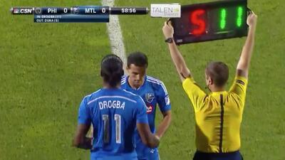Drogba hace su debut en la MLS con el Montreal Impact