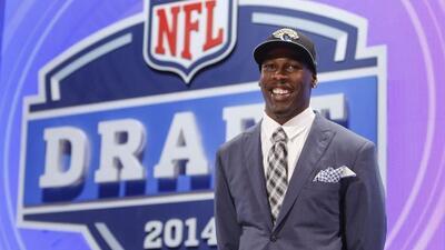 Los Jaguars seleccionaron al receptor de USC, Marqise Lee, en la segunda...
