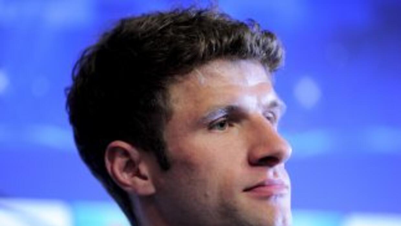 Müller es cauteloso ante lo que pueda hacer Messi en la vuelta.