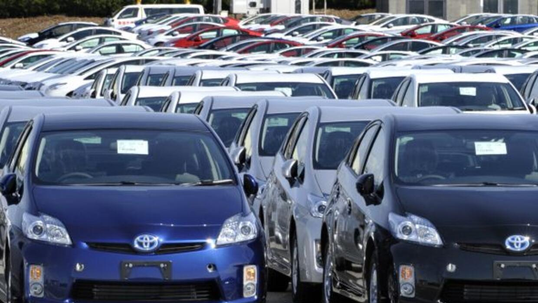 Otros tiempos. La producción de autos en Japón cayó drásticamente luego...
