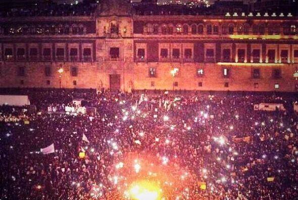 Las redes sociales compartieron imágenes de las movilizaciones por los 4...