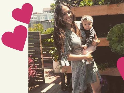 La bebé de Zuria Vega ya quedó flechada con un actor, desc...