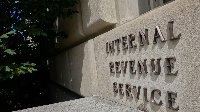 Instalaciones del IRS en Washington.