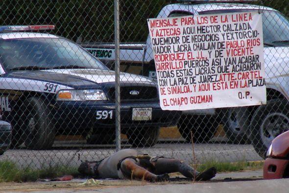 Fuerte rival de otros cárteles, como el cártel de Tijuana,...