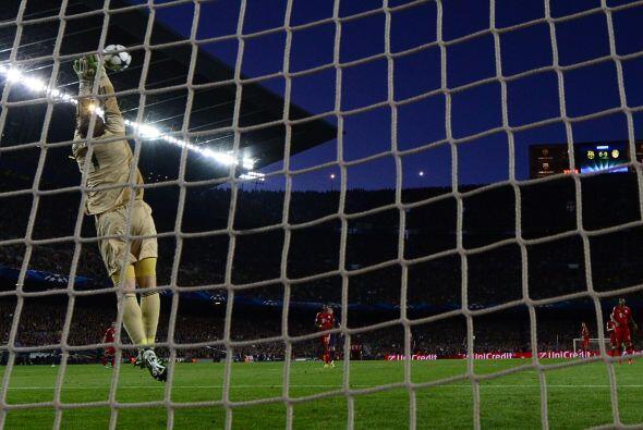 Manuel Neuer apenas y tuvo que salir de su área, sólo para tomar alguns...