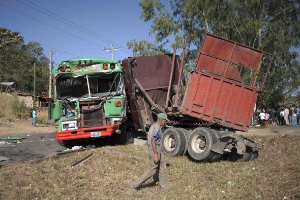 Este tipo de accidentes se han convertido en una epidemia en el país.