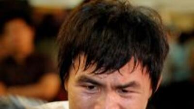 Manny Pacquiao quiere enfrentar a Mayweather Jr. a como dé lugar.