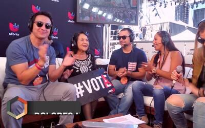 Dolores Huerta impulsa el voto desde 'RiseUp As One'