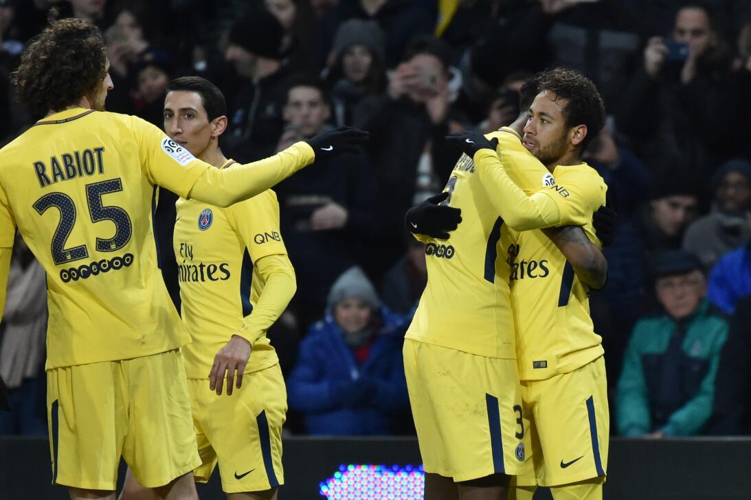 Su gol terminó siendo suficiente para que el PSG consiguiera el triunfo.