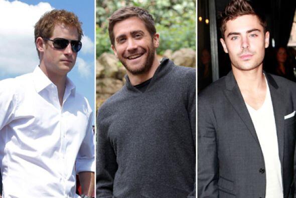 Son extremadamente guapos, sensuales, algunos son príncipes, pose...