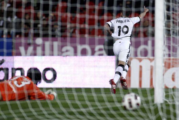 Pablo Hernández marcó doblete para el equipo 'che'.