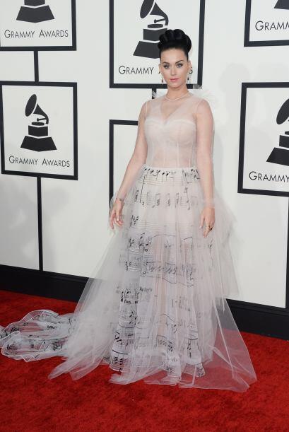 Algunos consideraron a Katy Perry como de las más elegantes, otros opina...