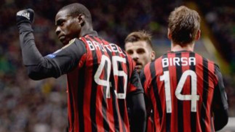 Balotelli marcó el tercer tanto 'rossonero', pero la gran figura del due...