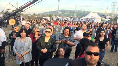 La familia Rivera en el L Festival, un festival dedicado a la mús...