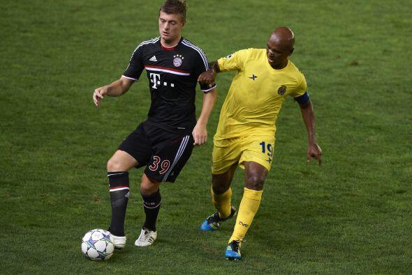 Villarreal no pudo ante el Bayer Munich, en su propia casa.