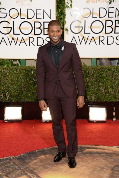 Usher fue el único que desentonó con los demás. Él no eligió el negro y...