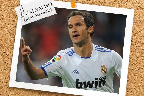El portugués Ricardo Carvalho se estrenó como goleador de un 'derby madr...