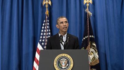 Obama agradece a la fuerza armada por su ayuda en Irak
