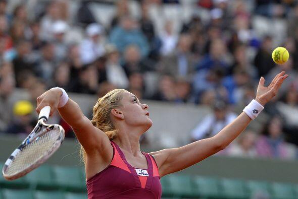 Radwanska logró por primera vez en su carrera acceder a los cuart...