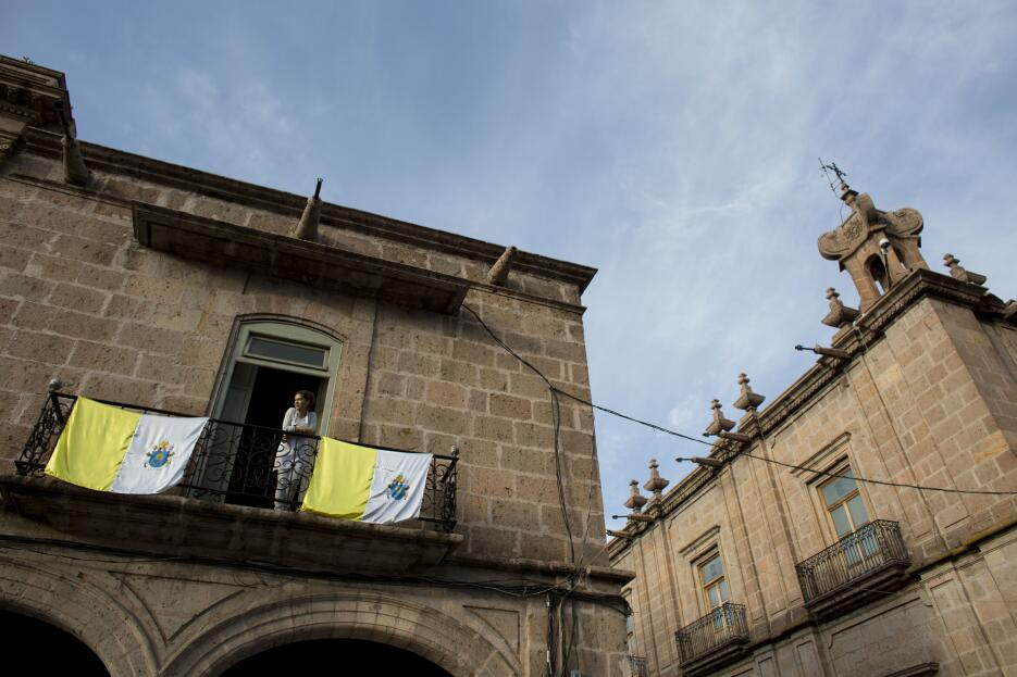 El papa Francisco en Morelia