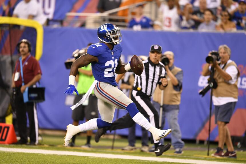8. Landon Collins | New York GiantsEste safety acumuló 125 tacleadas, 4...