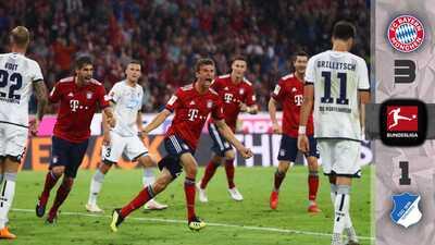 ¡Qué bávaros! El Bayern Múnich sufre en demasía, pero derrota al Hoffenheim