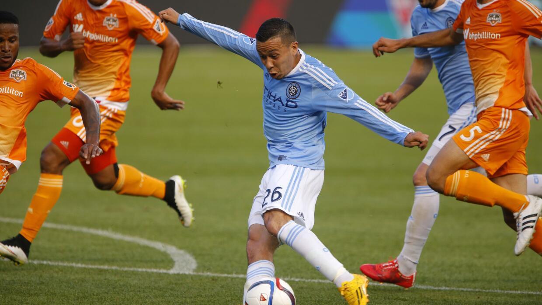 Sebastián Velázquez, del New York City FC