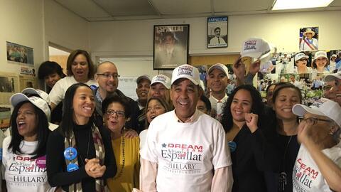El senador Adriano Espaillat es el favorito para ganar las elecciones ge...
