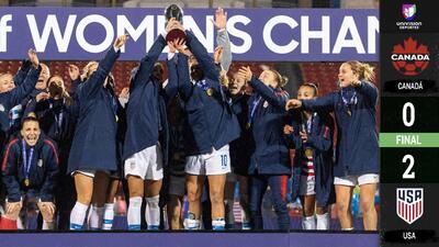 EEUU obtiene su octavo premundial de la Concacaf y mete miedo de cara a Francia 2019