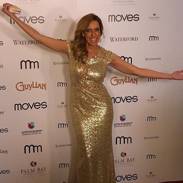 Lili Estefan recibió un reconocimiento por parte de la revista Moves.