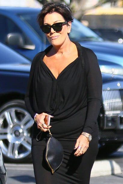 Ay, Kris Jenner, qué picarona nos saliste...