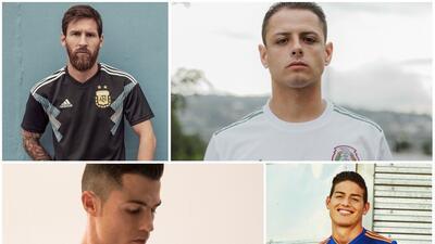 Estos son los jerseys que se verán en el Mundial de Rusia 2018