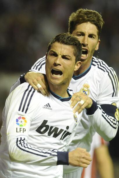 Ya en la línea de ataque, empezamos con Cristiano Ronaldo.