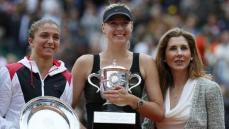 Maria Sharapova ganó su primer Roland Garros. Errani no pudo sorprender.