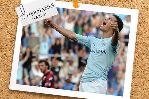 Ahora vamos a la Serie A italiana, donde Hernanes dio un gran juego.