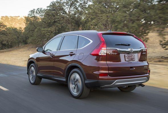 6- La Honda CR-V fusiona a la perfección estilo y elegancia, con deporti...