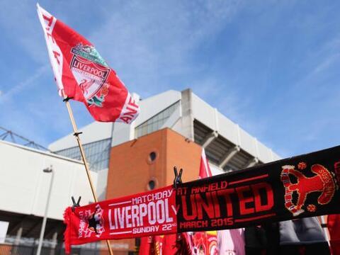 Las calles de Liverpool, particularmente los alrededores del míti...