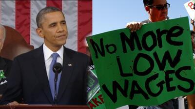 Obama aumentará el salario mínimo para los empleados federales