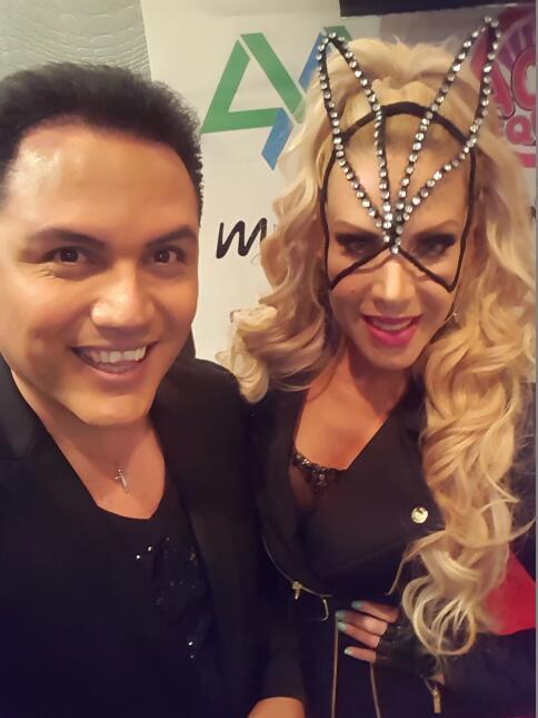 Lorena Herrera estuvo de visita con Auri Salgado