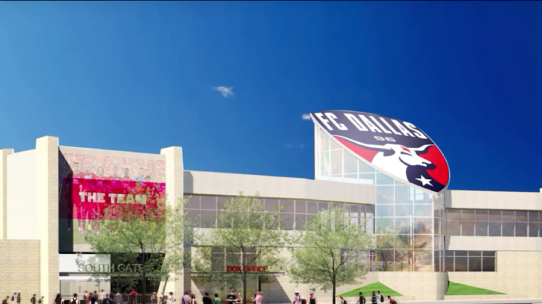 Nuevo Toyota Stadium en Dallas