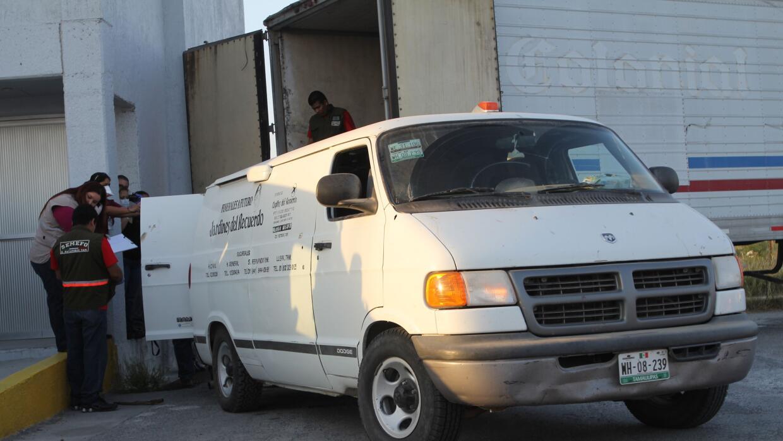 Personal forense en San Fernando