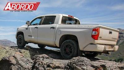 Primer Vistazo: 2019 Toyota Tundra TRD Pro   A Bordo