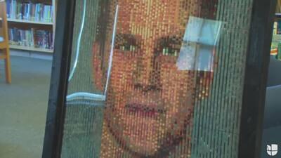 ¿Brady o Belichick? El mural hecho de legos que te volverá loco