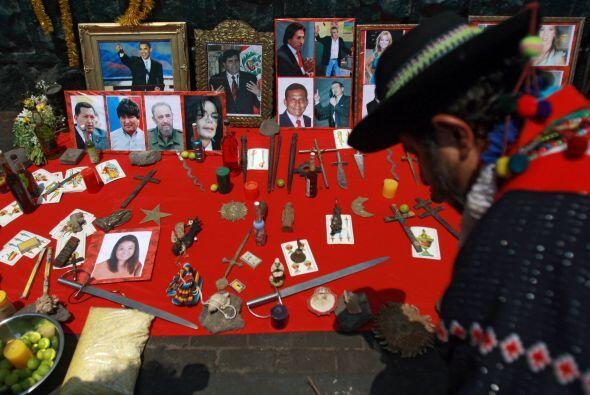 Keiko Fujimori, Fidel Castro, Hugo Chávez, Evo Morales, Alan García y Ba...