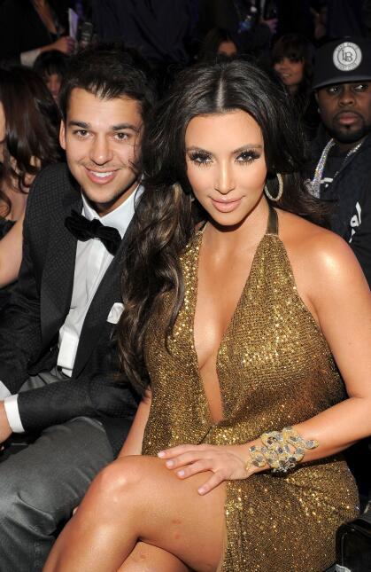 El antes y después de Rob Kardashian