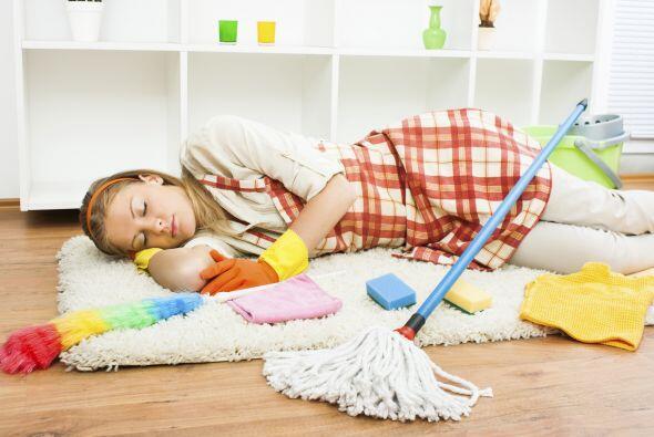 Tratar de hacer toda la limpieza en un día es otro de los errores comune...