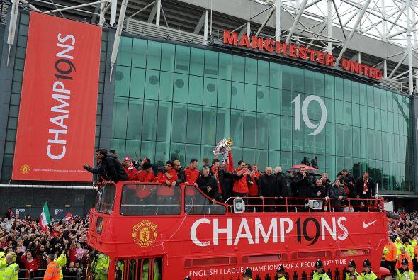 El estado de Old Trafford era el punto cumbre del recorrido. El inmueble...